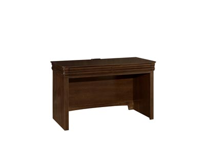 French Market Deep Oak Laptop/Tablet Desk - 2 Drawer