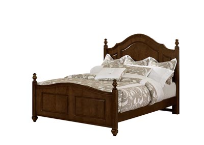 French Market Bronze Poster Queen Bed