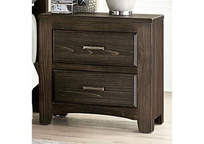 Cottage Too Coffee Nightstand