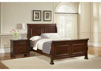 Image for Reflections Coral Reef Sleigh Queen Bed