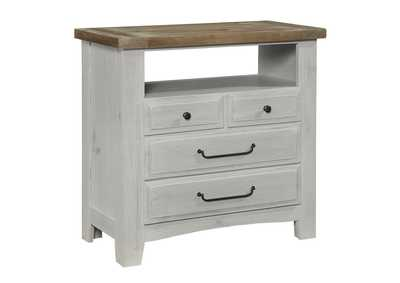 Image for Sawmill Delta Media Chest - 4 Drawer