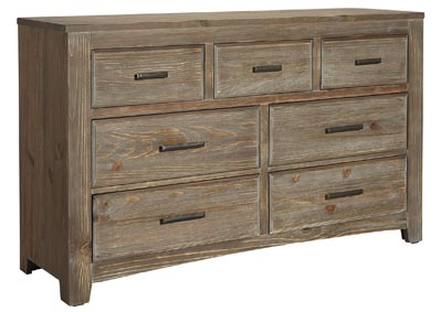 Cottage Too Cement Triple Dresser - 7 Drawer