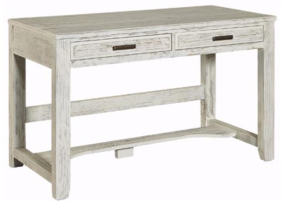 Cottage Too Mist Gray Laptop/Tablet Desk - 2 Drawer