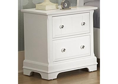 Image for Cottage Collection Mercury Night Stand - 2 Drawer