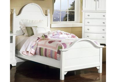 Cottage Collection Gallery Panel Twin Bed