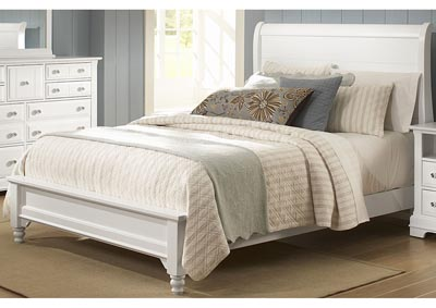 Image for Cottage Collection Domino Sleigh King Bed