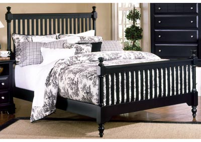 Cottage Collection Dirt Slat Poster King Bed