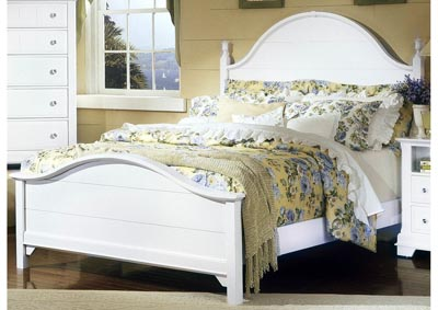 Cottage Collection Mercury Panel King Bed