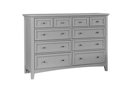Bonanza Quick Silver Triple Dresser - 8 Drawer