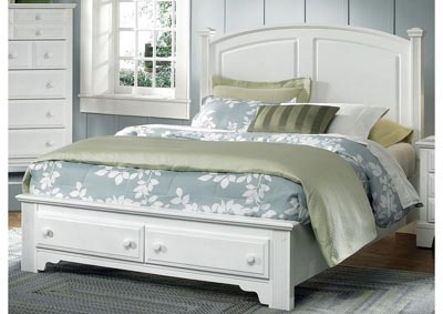 Barnburner 6 Silver Panel King Bed  &Storage