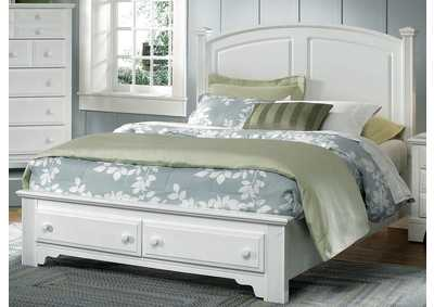 Barnburner 6 Silver Panel Full Bed & Storage