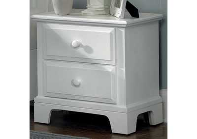 Barnburner 6 Quick Silver Night Stand - 2 Drawer