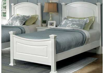 Barnburner 6 Silver Panel Full Bed