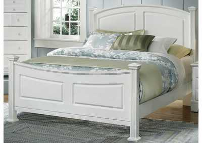 Barnburner 6 Silver Panel King Bed