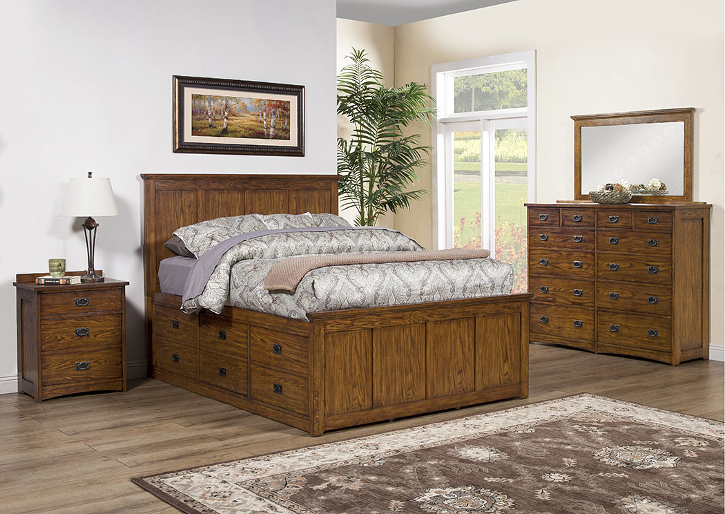 Colorado Storage California King Bed,Winners Only