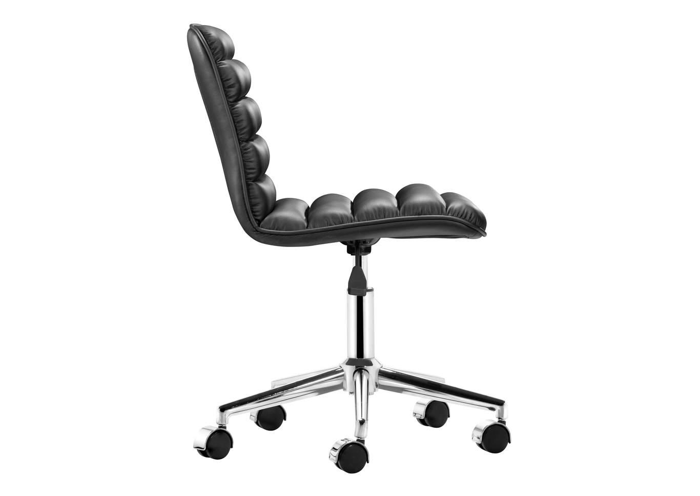 Admire Office Chair Black Big Box Furniture  Discount Furniture
