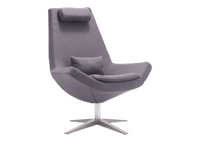 Image for Bruges Occasional Chair Charcoal Gray