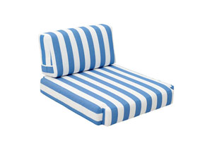 Bilander Arm Chair Cushion Blue & White